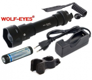 Prisvit k nočnému videniu Wolf-Eyes Nite Hunter IR-850nm Full Set