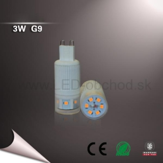 3W Led žiarovka - G9 (WW,NW)