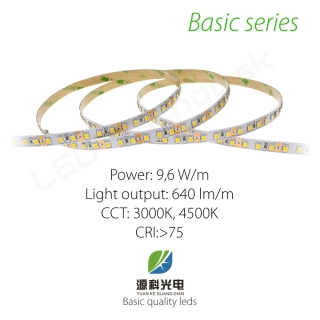 LED pásik BASIC series 9,6W/12V, 120 LED/m 2835