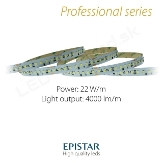 LED pás Professional Constant current IC 22W/m 128LED/m - 4000lm