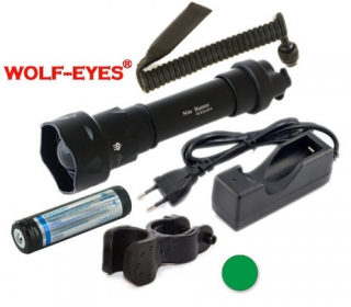 Wolf-Eyes Nite Hunter Zelená LED Full Set