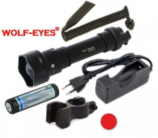 Wolf-Eyes Nite Hunter Červená LED Full Set